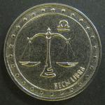 1 рубль 2016 г. Приднестровье. Знаки зодиака. Весы