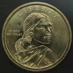 1 доллар США. Индианка