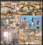Набор календариков. Кадры из кукольных кинофильмов Рижских киностудий 1989 г. 6 шт.