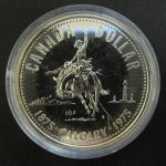Канада. 1 доллар. 1975 г. Калгари