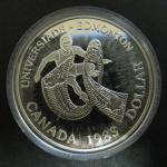 Канада. 1 доллар. 1983 г. Универсиада. Эдмонт