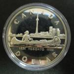 Канада. 1 доллар. 1984 г. Торонто