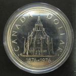 Канада. 1 доллар. 1976 г. Библиотека конгресса