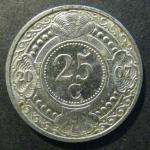 Монета Нидерланды Антиллен 20 С 2007 г.