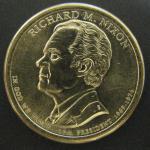 1 доллар США. 37 президент - Ричард М. Никсон