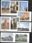 Набор календариков. Архитектура прибалтийских республик. 1990 г. 9 шт.