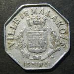5 центов. Вилле Малаков Al. Франция