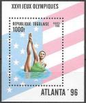 Того 1996 год. Летние Олимпийские Игры в Атланте. Синхронное плавание, блок