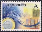 Люксембург 1999 год. Введение денежной единицы Евро. 1 марка