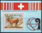 """Никарагуа 1983 год. Филвыставка """"Тembal-83"""". (246.2399). Блок"""