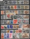 Годовой набор марок 1947 год. Гашеный