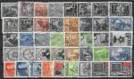 Годовой набор марок 1943 год. Гашеный