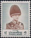 Таиланд 1988 год. Король Пхумипон Адульядета (4). 1 марка из серии