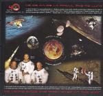 Румыния 2009 год. 40 лет первого пилотируемого полета на Луну (297.6366). Блок