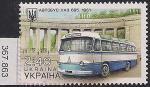 Украина 2015 год. Автобус ЛАЗ-695. 1 марка