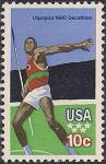 США 1980 год. Летние Олимпийские Игры в Москве. 1 марка