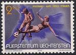 Лихтенштейн 1990 год. Чемпионат мира по футболу в Италии. 1 марка