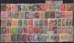 Набор почтовых марок. Швеция. 67 гашеных марок