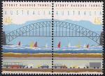 Австралия 1992 год. Открытие портового туннеля в Сиднее. 2 марки