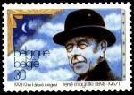Бельгия 1993 год. 95 лет со дня рождения художника Рене Магрита. 1 марка