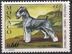 Монако 1974 год. Выставка собак в Монте Карло. Терьер. 1 марка
