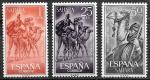 Испанская Сахара 1963 год. Кочевники, верблюды, 3 марки