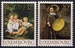 Люксембург 1989 год. Дети на картинах. 2 марки