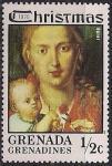Гренада 1975 год. Рождество (ном. 1/2). 1 марка из серии