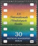 Берлин 1970 год. Международный кинофестиваль. Кинопленка, 1 марка