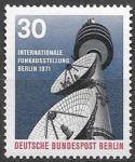 Берлин 1971 год. Международная выставка радио, 1 марка