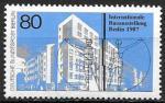 Берлин 1987 год. Строительная выставка. Новостройка, 1 марка