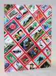 Альбом для марок, 8 белых страниц, формат А-4. 4 листа