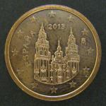 1 евро цент 2013 год. Испания