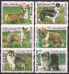 Афганистан 1999 год. Породы собак. 6 марок