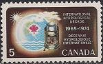Канада 1968 год. Международная декада ЮНЕСКО по защите водных ресурсов. 1 марка