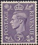 Великобритания 1937 год. Король Георг VI (ном. 3). 1 марка из серии