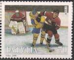 Латвия 2000 год. Федерация хоккея (196.112). 1 марка