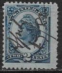 Непочтовая марка, США, 2 цента