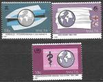 Мальта 1988 год. Медицина. Красный крест, 3 марки