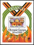 Уганда 1988 год. Летние Олимпийские игры в Сеуле, блок