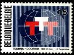 Бельгия 1993 год. Эмблема выставки технологий французской общины. 1 марка