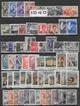 Годовой набор марок 1940 год. Гашеный