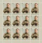 Россия 2019 год. 100 лет со дня рождения А.И. Фатьянова (1919–1959), поэта-песенника, лист