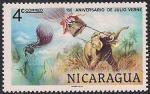 Никарагуа 1978 год. 150 лет со дня рождения Жюля Верна. 1 марка
