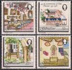 """Гибралтар 1981 год. 450 лет францисканскому монастырю """"Конвент"""". 4 марки"""