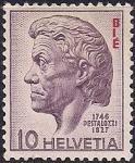 Швейцария 1946 год. 200 лет со дня рождения педагога Генриха Пестолоцци (ном. 10). 1 марка из серии