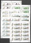 Россия 2003 г. 300 лет Санкт-Петербургу, 6 листов марок