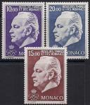 Монако 1974 год. Князь Ренье третий. 3 марки