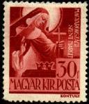 Венгрия 1944 год. Святая Маргарита. 1 марка