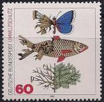 ФРГ 1981 год. Защита окружающей среды. 1 марка